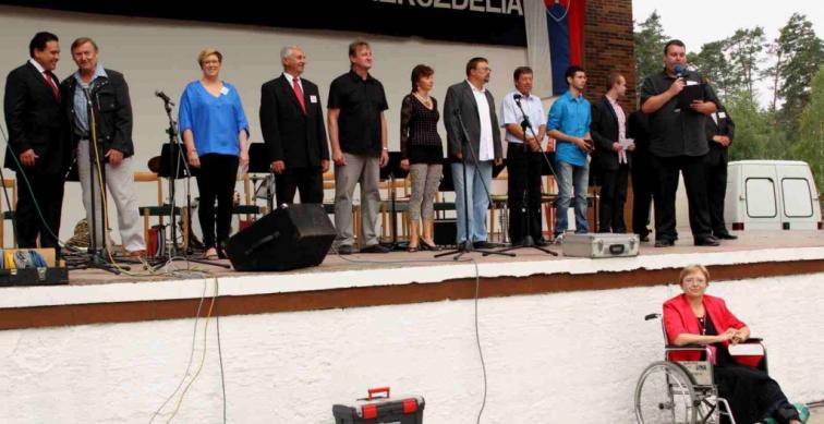 Dubňany - setkání občanů na moravsko-slovenském pomezí