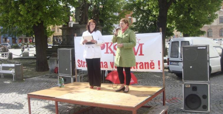 Volební kampaň - kraj Vysočina