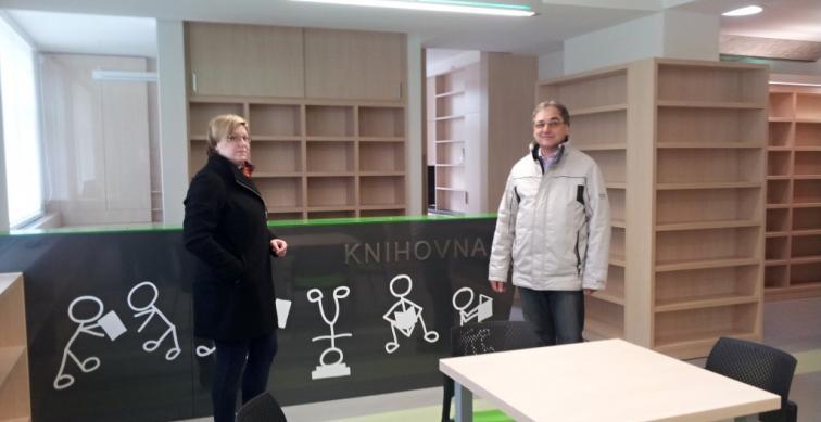Kandidátka do Europarlamentu Dagmar Švendová na Znojemsku.