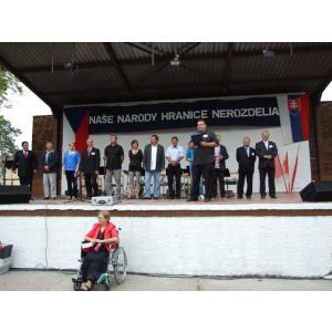 Dubňany - setkání na moravsko-slovenském pomezí, srpen 2014